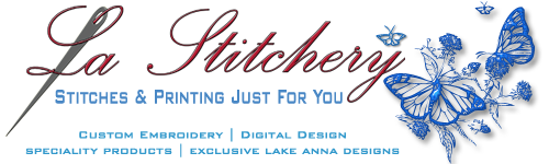 La Stitchery | Custom Embroidery & Digital Imaging